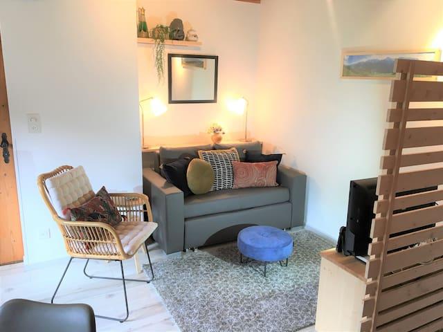 Schöne Dachwohnung für 2 Personen in Ftan