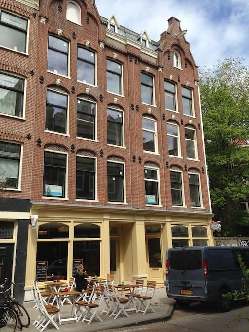 Cozy 1 bedroom jordaan apartment 14 1 apartments for for Design apartment jordaan amsterdam