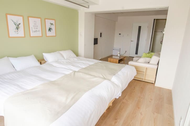 Opening Sale! Comfortable flat/wifi/parking/803
