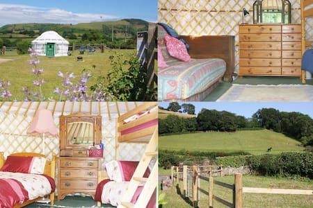 Yurt Iris, Llansilin Shropshire - Llansilin - Jurta