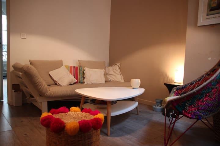 Joli appartement de 40 m2, Jardin du Luxembourg - Paris - Apartemen