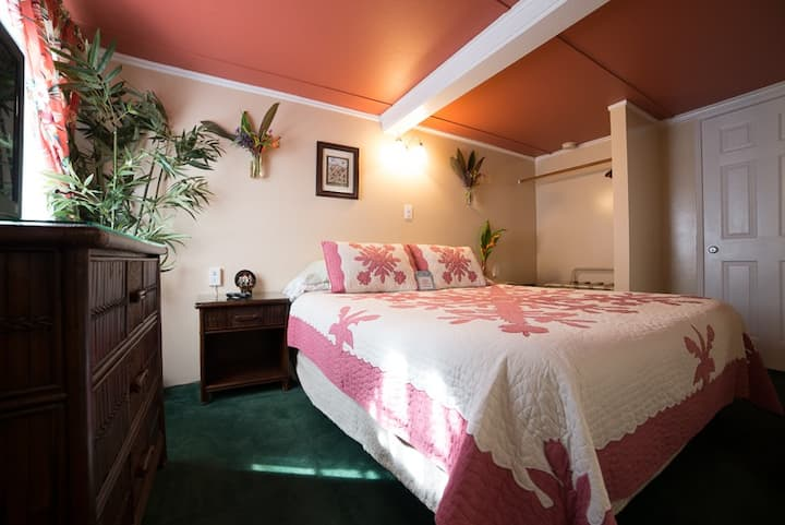 Wailuku Guesthouse Wasabi Rm. Need a car also? Ask