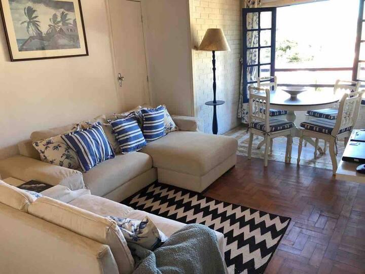 Apartamento em lugar aprazível em Nogueira