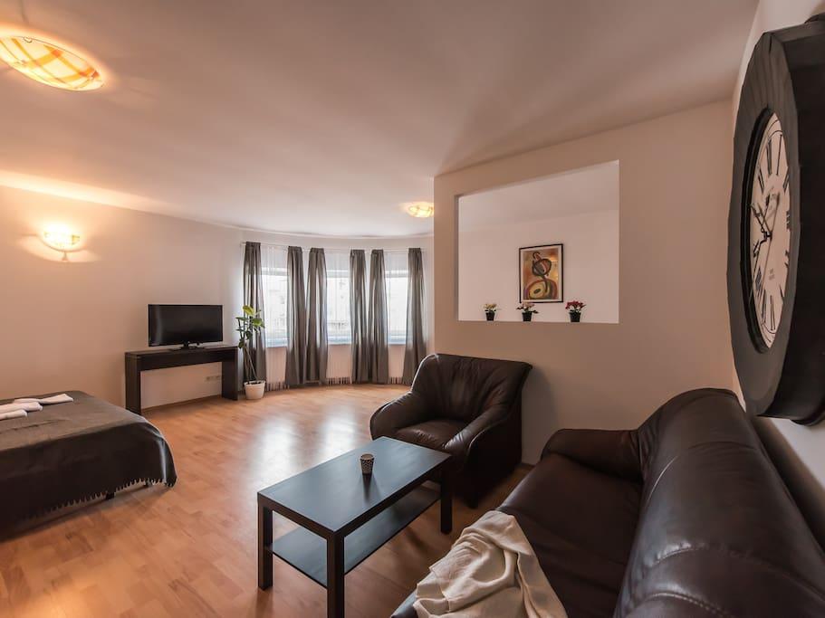 Living Room - Delia Apartment