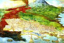 Dipinto visibile nel Museo Civico del Castello Ursino
