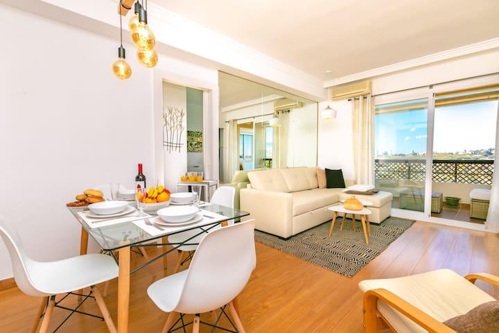 Bonito apartamento para 4 pers en Marbella