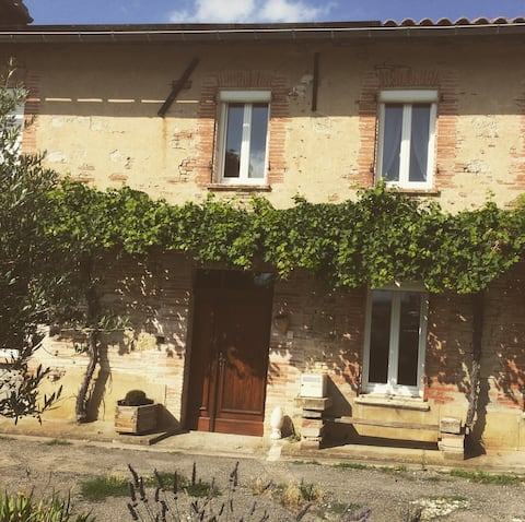Pretty renovated house in the Toulouse countryside
