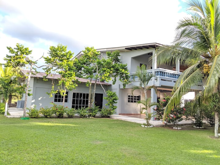 Private beach-front group friendly home