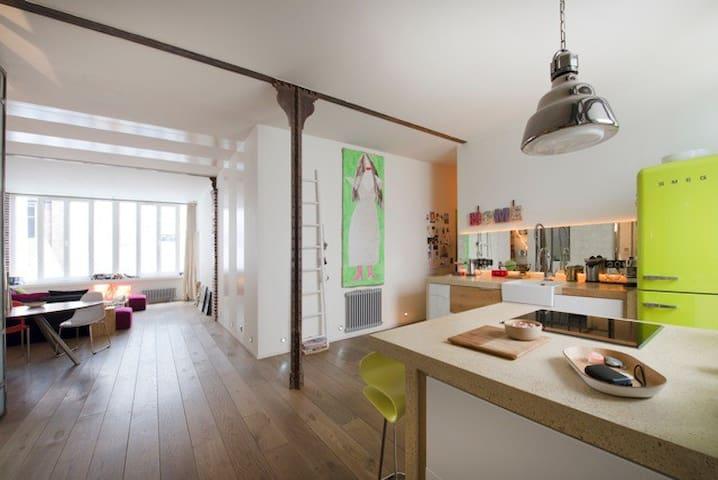 dream loft close to Gare du Nord