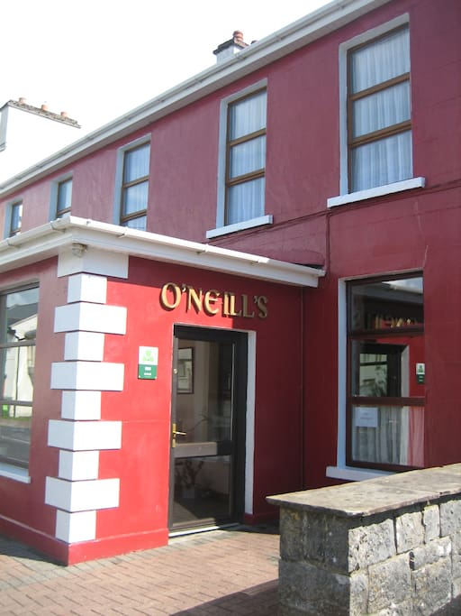 O'Neills with a warm welcome awaiting you