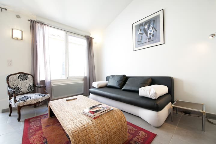 10 mn to arena, Cosy studio loft with aircon