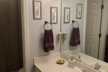 Bathroom for Bedrooms 2, 3 & 4