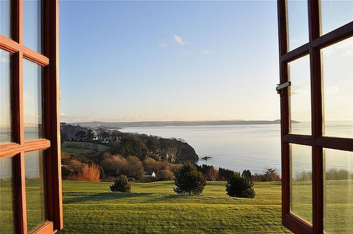 The Lookout - Super Sea View of St Austell Bay