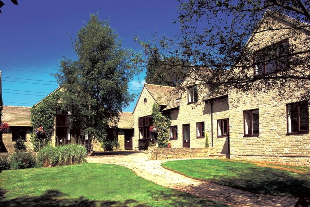 Six purpose built Cotswold style holiday cottages