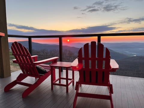 Best View in the Blue Ridge from Biscuit's Porch