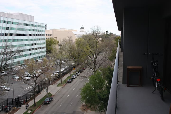 State Capitol Balcony View, East