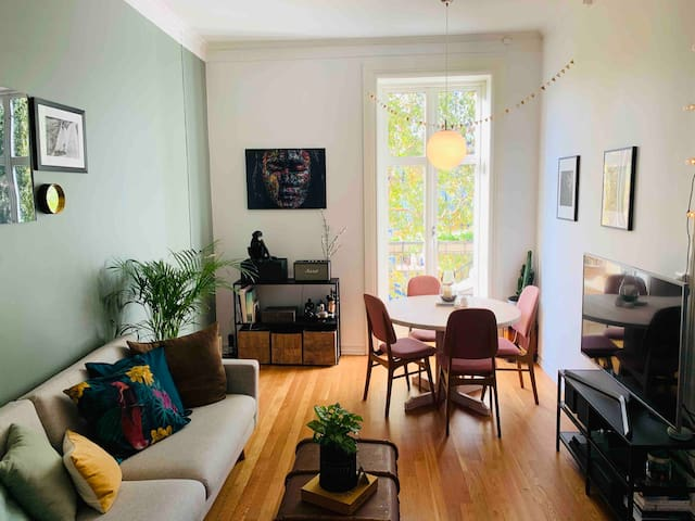 Room in central beautiful apartment with a Cat!