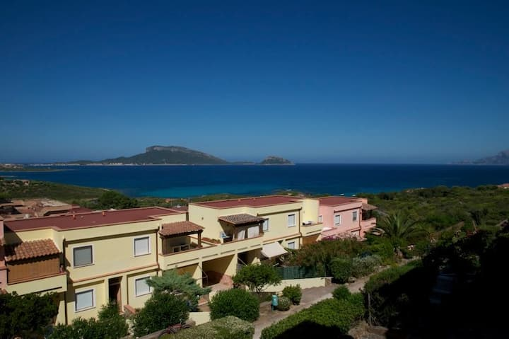 Sardinia, and you're at 300 meters from the sea