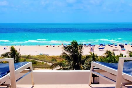 Ocean Dr Luxury Beachfront Studio. Ocean View Pool - Miami Beach - Departamento