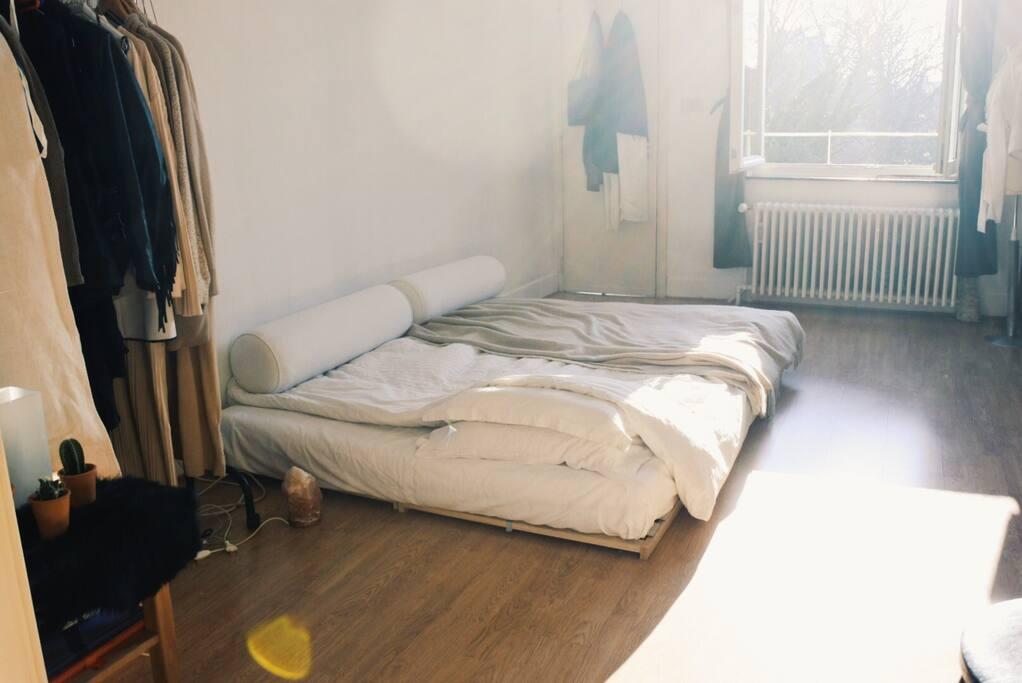 Chambre avec mit 160 x 200
