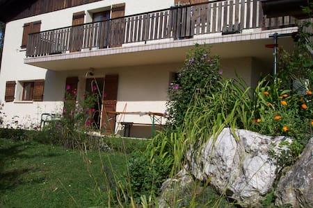 A proximité d'Annecy appart au calme 5 personnes - La Balme-de-Sillingy - Huoneisto