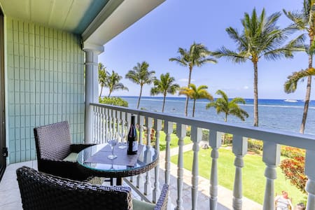 Oceanfront Studio in Lahaina Shores