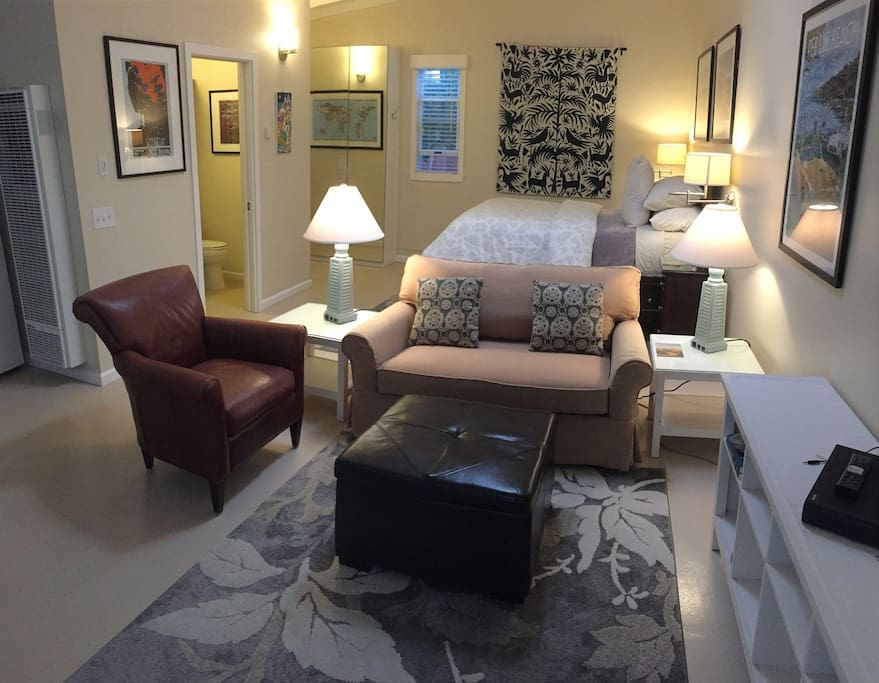 Cozy and comfortable furnishings
