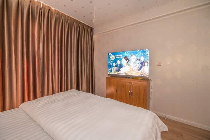 丹东东港高层观海房3室4床1厨近海鲜市场大鹿岛獐岛码头