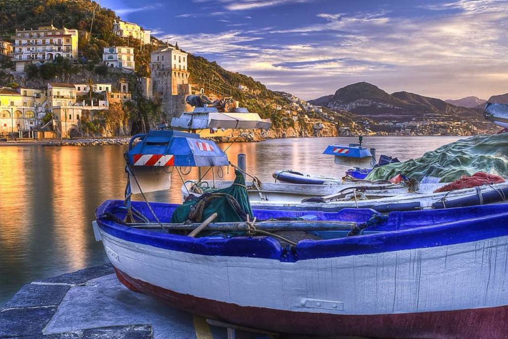 CETARA  (borgo di pescatori)