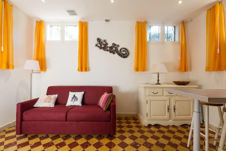 Appartement dans écrin de Verdure - Nice - Leilighet