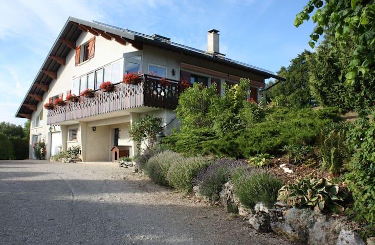 Chez Agnès et Didier - Hauteville-Lompnes - Szoba reggelivel