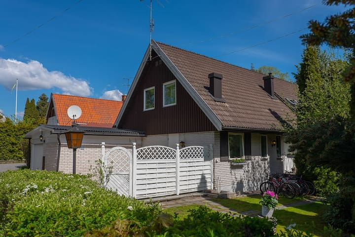 Beautiful fresh house/Villa in Sollentuna