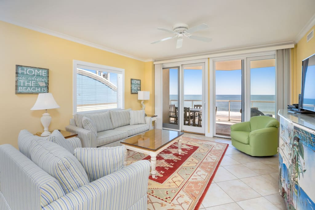 This fabulous Direct Oceanfront Home has 4 Bedrooms & 3.5 Baths.