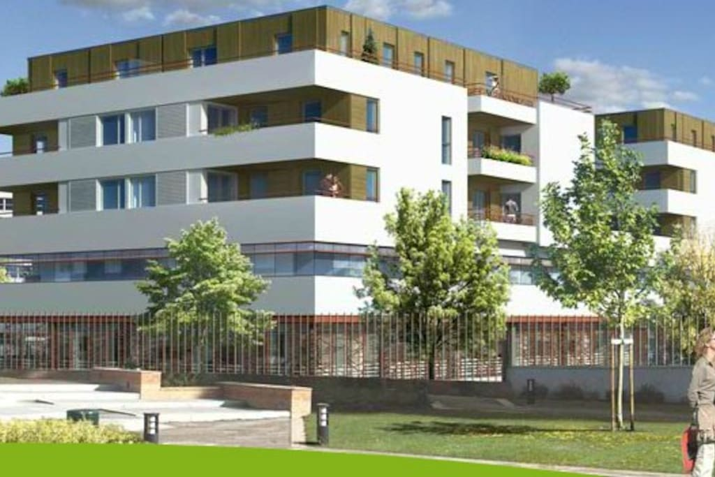 Agr able t3 5 minutes du centre ville appartements for Appartement bordeaux centre ville location