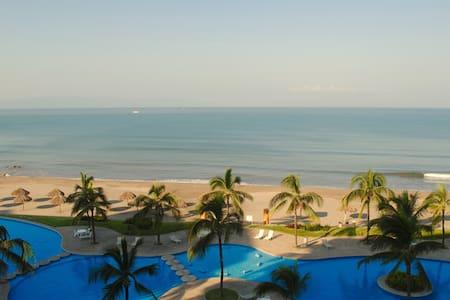 Sueño hecho realidad Beach Front Condo!  - Сан-Хуан-де-Абахо - Квартира
