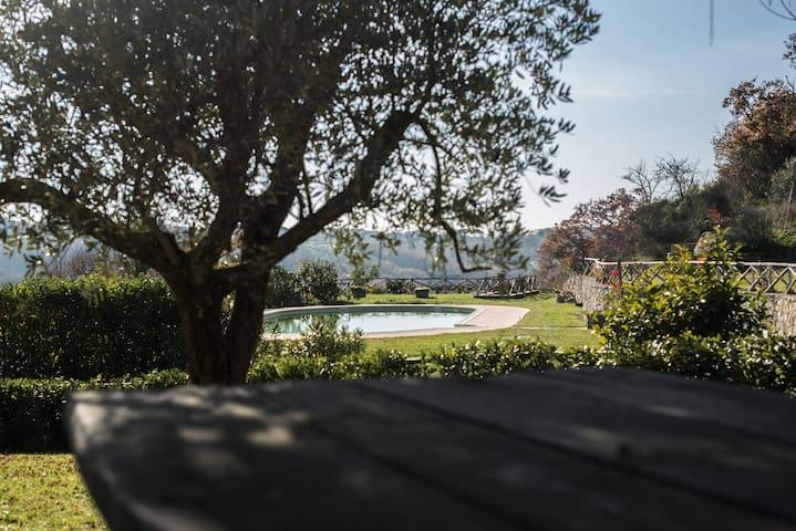 Hilltop Farmhouse in Traditional Borgo - Scansano - House