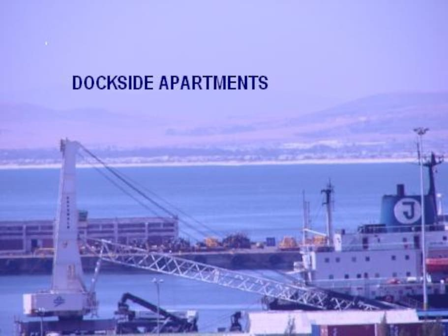 Very close to harbour & V&A Waterfront