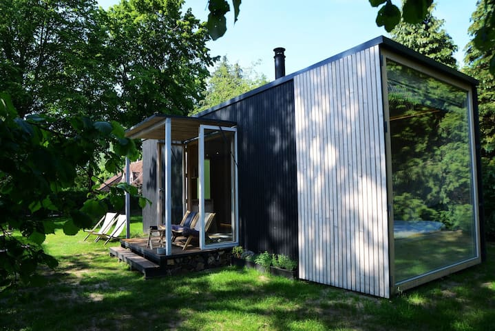 The Cosy Cabin, a unique tiny house.