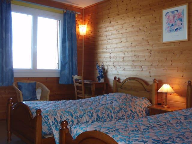 chambre entre vigne et montagne - Condrieu - Bed & Breakfast