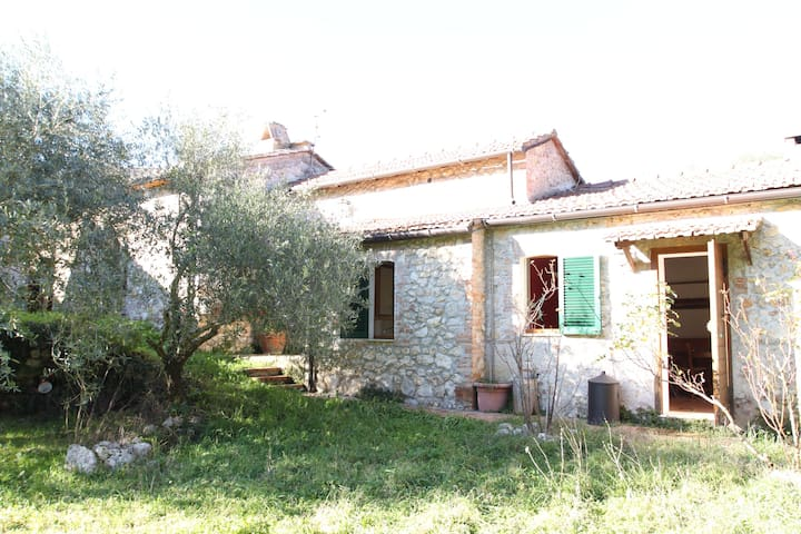 House in the heart of green hills - Narni