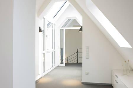 Zu Gast bei Freunden - Dachterrasse - Speyer - Appartement