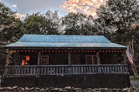 Private Cabin On 50 Acres, ATV Trail, Salmon River