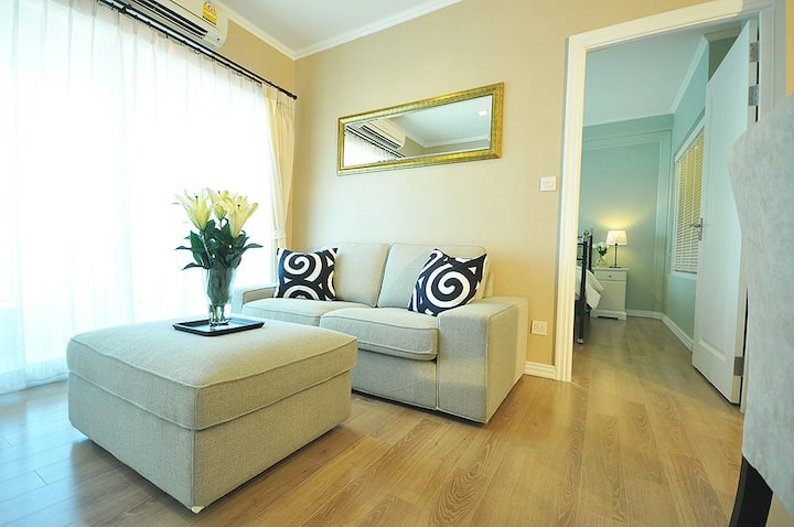 ♡ Peaceful apartment in the heart of Bangkok, Siam