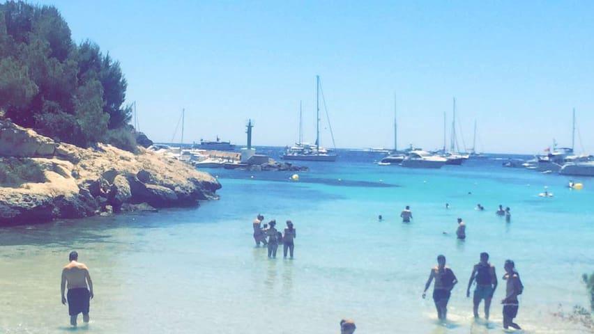 Playa de Mago a solo 15 minutos a pieds