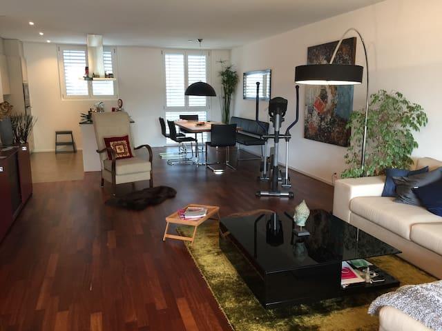 16 m2 Zimmer mit private Bad - Kreuzlingen  - Leilighet