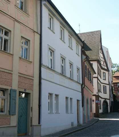 Cosy apartment historical center - Bamberg - Huis