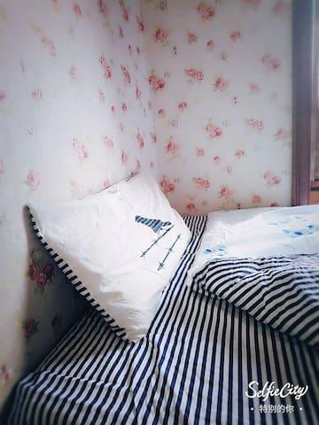 【特价中哦】福田景田香蜜湖站|Fountain Suites|可爱榻榻米【限女生】