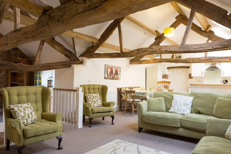 Stylish character barn conversion in Cumbria.