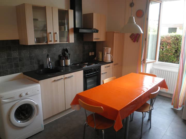 Nice appartment 4 rooms with garden