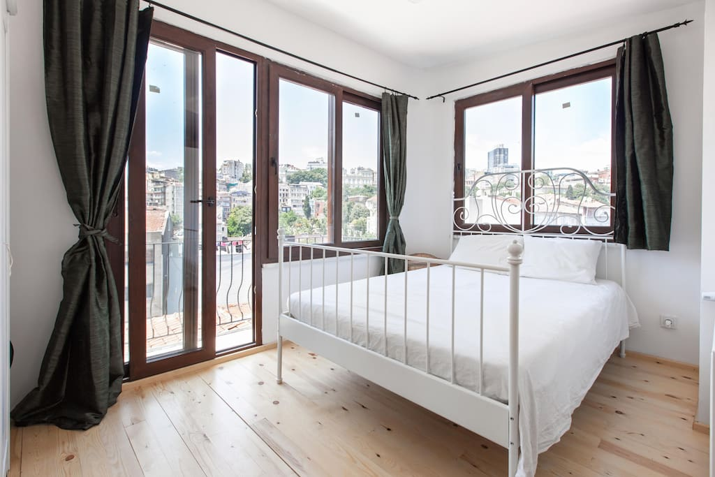 bedroom - stylish apartament in istanbul